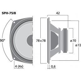 SPH-75/8