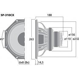 SP-310CX