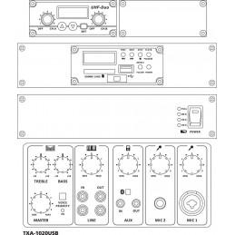 TXA-1020USB