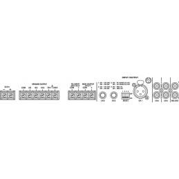 Bakgrundsmusik - Vägg, Small (vit)